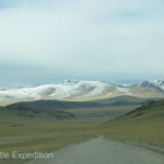 We were hoping that the road would find an easy way through these snowy mountains.
