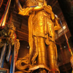 This gold-plated Buddha in the Megjid Janraisig Datsan temple was created in 1911, the same year that His Holiness Bogd Jevzundamba the VIII was enthroned as the King of Mongolia with unlimited rights. Trump should look into this!