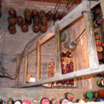 Russian cellars are always full of homemade canned fruits and vegetables.