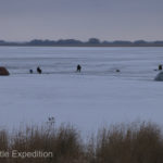 Lakes near Rubtsovsk offered Russian men like Losha one of their favorite pastimes---ice fishing!