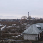 There are still some factories in Rubtsovsk.