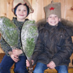Misha and Semen were sent to purchase some birch branches to be used during the banya ritual.