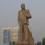 In Chita we were surprised to see a statue of Vladimir Lenin, founder of the Russian Communist Party in 1917.