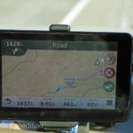 The map on our Garmin GPS told us the road was not always arrow straight.