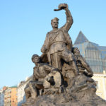 There were numerous interesting statues and monuments throughout Vladivostok to be found.