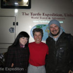 Irina and Alexey spotted the parked The Turtle V and came for a visit. We had a great conversation and were able to ask many lingering questions we had before departing for South Korea the next day.