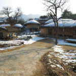 We wandered through Hahoe and couldn't stop taking photos of this picturesque traditional village.