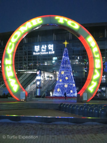 It's Christmas time in South Korea.