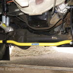 Hellwig HD sway bars front and rear improve stability and cornering.