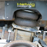 Adding Hellwig Air Assist bags at the rear softens the ride.