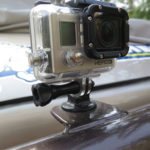 We added a mount for a GoPro camera.