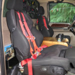 Recaro Orthopedic seats incorporate seven adjustments, a heater and a ventilation fan.