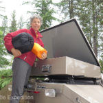 On a lengthy expedition storage for maintenance parts, clothing and outdoor equipment is critical.