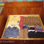 Yup, one drawer of clothes each!
