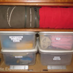 Careful planning makes use of every square inch. Labels and organization make things easy to find.