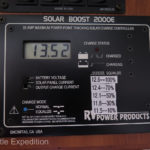 The Solar Boost 2008 allows us to take advantage of the maximum capacity of our BP 85 solar panels.