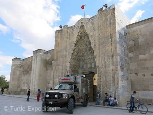 The Aksaray-Sultanhan is the largest Caravanserai along the Silk Road in Turkey.