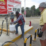 Propane is readily available all over Baja.