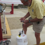 The only accurate way to see how much propane is in your tank is to weigh it.