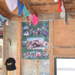Dozens of girls' underwear still hang from the rafters and one of our original Turtle Expedition posters retains a proud place on the wall.