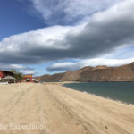 Gonzaga Bay is surely one of the nicest beaches in all of Baja California for walking and swimming.